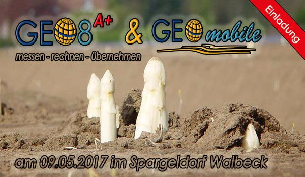 GEO8 A+ Workshop für Ämter