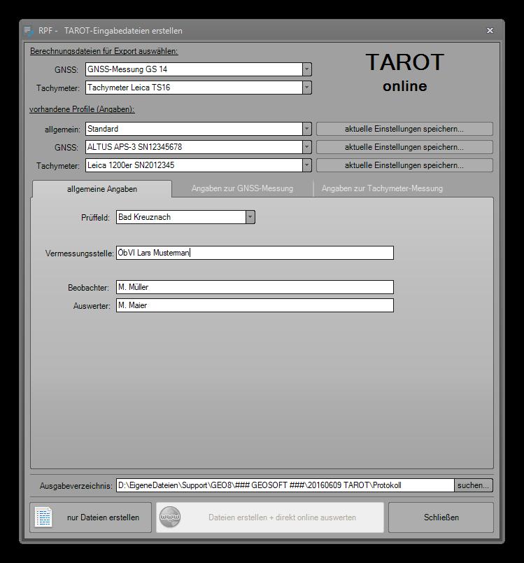 TAROT RLP
