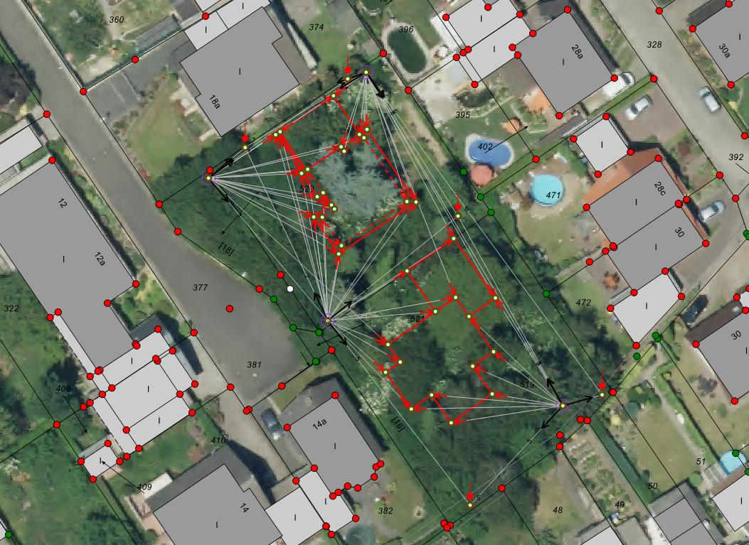 WMS-Dienst - Gebäudeeinmessung
